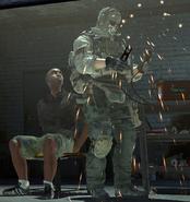 Ghost tortorujący człowieka Rojasa
