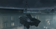 BTR-80 being carried MW3