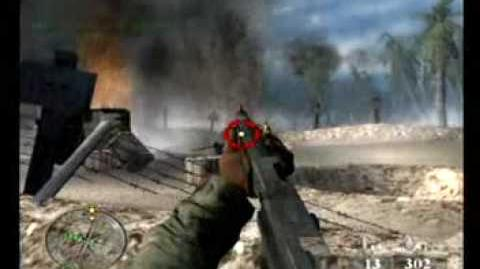 Call of Duty World at War - Final Fronts PS2 gameplay - Betio Airfield mission