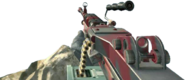 M249 SAW Red Tiger CoD4