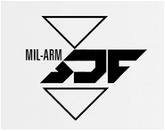 SDF-MIL Acronym Logo Alternate by Aaron Beck IW