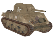 M4 Sherman desert model CoD2