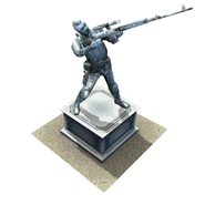 Statue Soap menu icon CoDH
