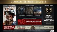 Ultimate Edition Bonuses BOCW