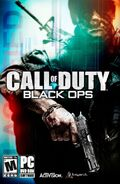 Call of Duty Black Ops Manual Cover