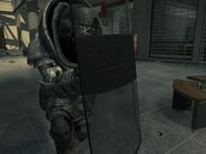Juggernaut with a Riot Shield