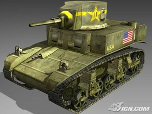 CoD2 BRO - Stuart tank