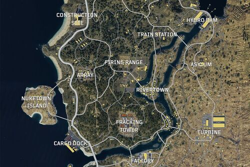 Blackout standard map