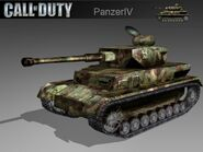 Panzer IV model CoD2 BRO