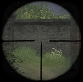 Kar98k sniper scope ADS CoD2.png