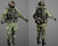 Korean Peoples Army Soldier Model 2 AW