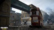 London Docks announcement WWII