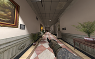 Sprinting with M9 one hand MW2
