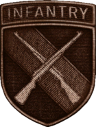 Infantry Division Bronze WWII