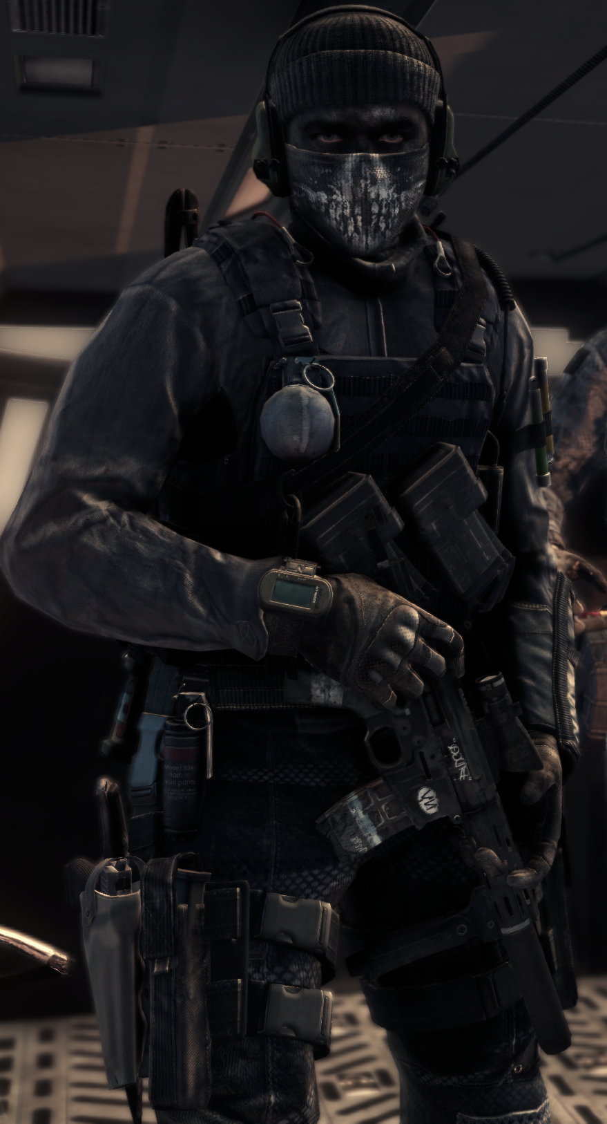 unmasked call of duty ghosts logan face