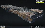 SDF Carrier Concept Rear by Andrew Stevenson IW