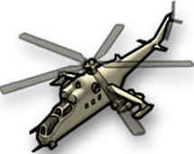 Attack Helicopter HUD icon MW3