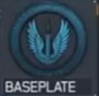 Baseplate insignia