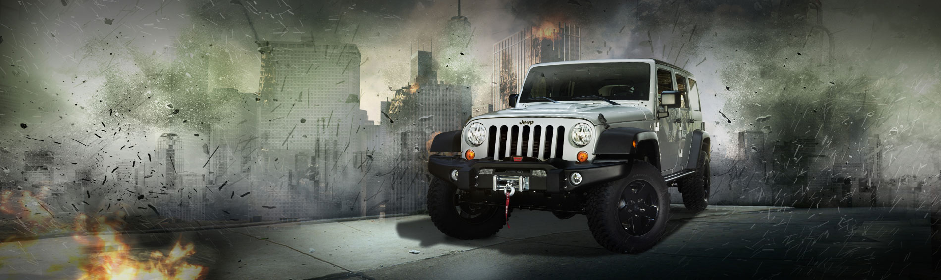 Image  Jeep Wrangler white promotional for MW3jpg  Call of Duty