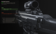 Canted hybrid sight discription MW 2019