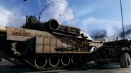 M1A2 Abrams side view CoDG