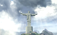 O cristo redentor statue
