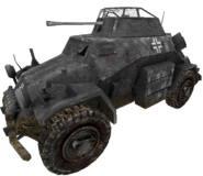 Sd. Kfz 222 MP cut WaW
