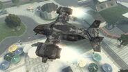 Εχθρικο VTOL Warship απο επανω