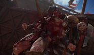 Brawler impaled