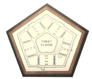 Pentagon 1st Floor Plan