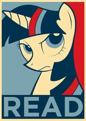Pony read