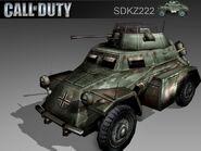 Sd Kfz 222 CoD2 BRO