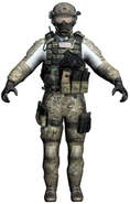 Derek 'Frost' Westbrook model MW3