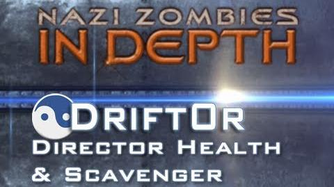 Nazi Zombies Director Health and Scavenger