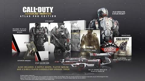 Deathmanstratos/Call of Duty: Advanced Warfare Collectors Edition trailer revealed