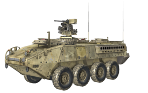 Stryker model MW3
