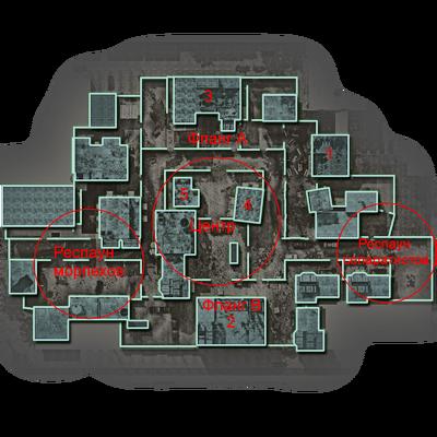 Backlot стратегическая карта