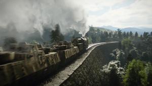 Call of Duty WWII УСО бронепоезд интро