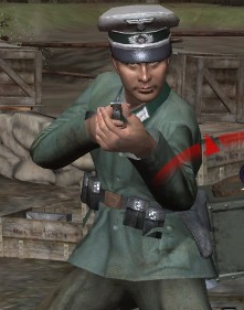 File:German officer Normandy CoD2.png