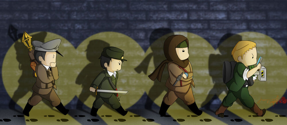 The zombies crew