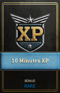 Rare XP Bonus Supply Drop Card WWII