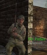 Parker cover CoD
