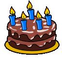 Blackout's Birthday Cake