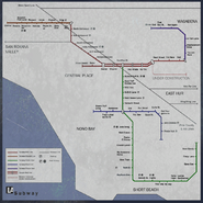 LA Subway map Chasm CoDG