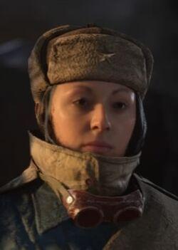 LadyDeath Head NaziZombies WWII