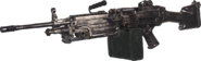 M249 SAW Nickel Plated MWR