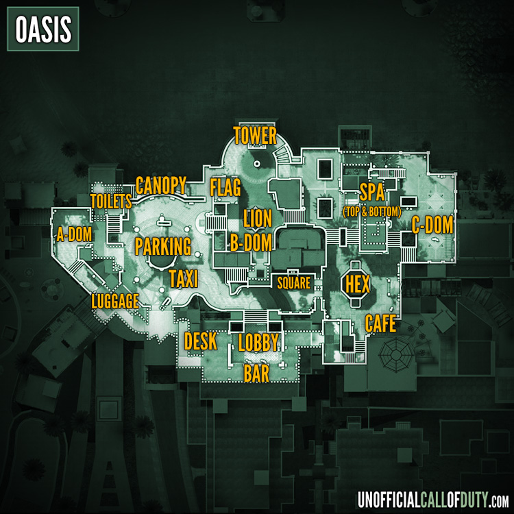 Image   Map Oasis MW3. | Call of Duty Wiki | FANDOM powered by