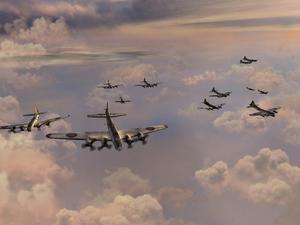 Бомберы в полёте