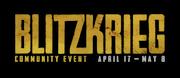 Blitzkrieg event Logo WWII