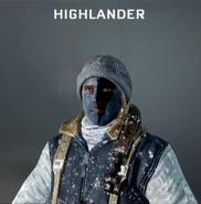 Highlander Face Paint BO